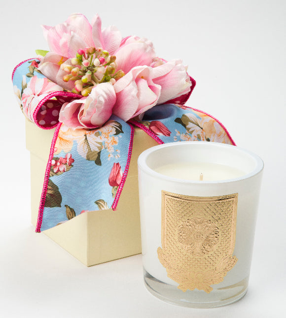 Spring - Mille Fleur - 14oz. flower box candle (case of 6)