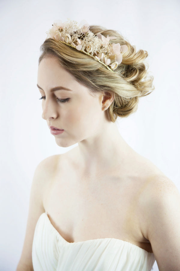Bridal Hair Flower Wreath