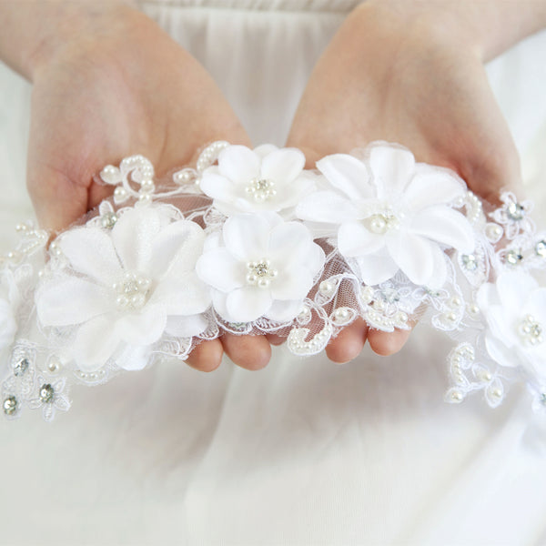 Bridal Flower Hair Wreath