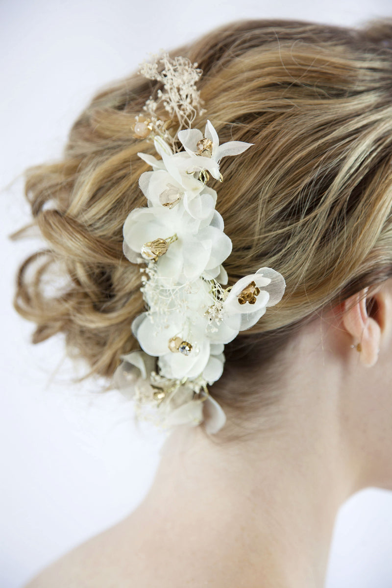 Bridal Flower Hair Pin