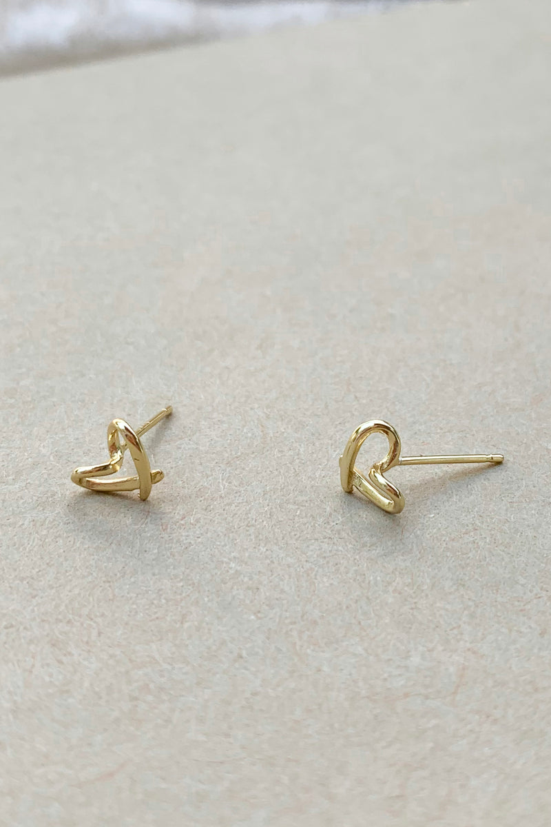 14k gold plated Tiny Earrings / Bridal Party Gifts