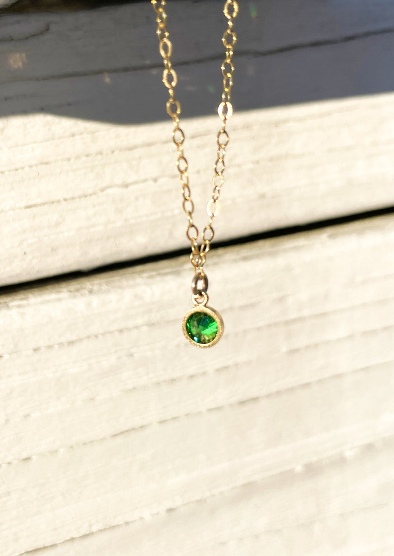 JADE | GOLD NECKLACE