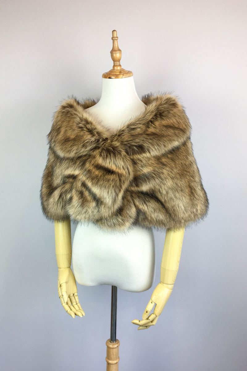 Brown Fur Wrap (Blair Brw03)