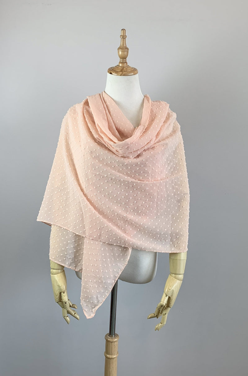 Champagne Long Scarf Cover Up (Lola Cha08)