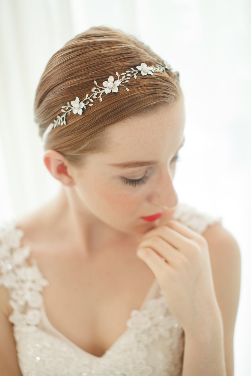 Flower Wedding Headband