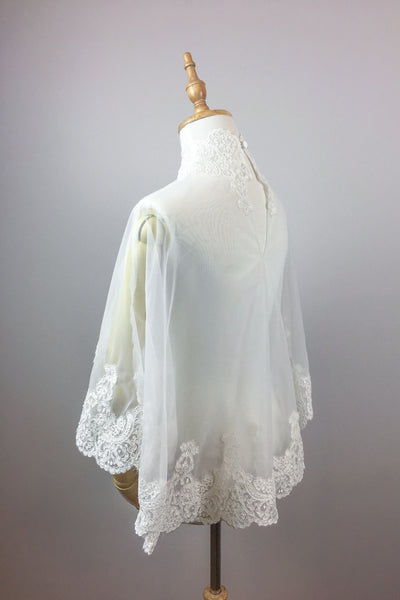 Bridal summer cover up, Lace bolero, Lace Top