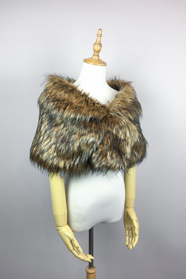 Brown Fur Wrap (Blair Brw02)