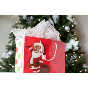 Black Santa Clarence Claus™ Gift Bag Sets