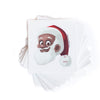 Clarence Claus Gift Label Black Santa Claus