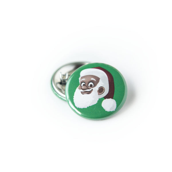 Greentop Gifts - Clarence Claus™ Button