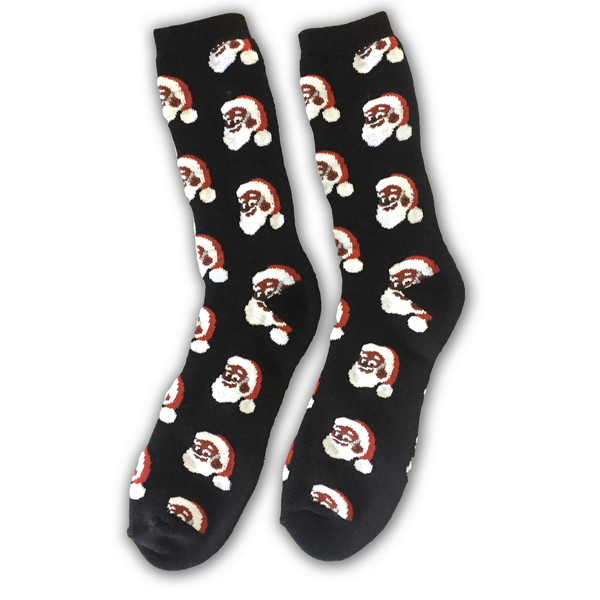 Black Santa Clarence Claus™ Socks