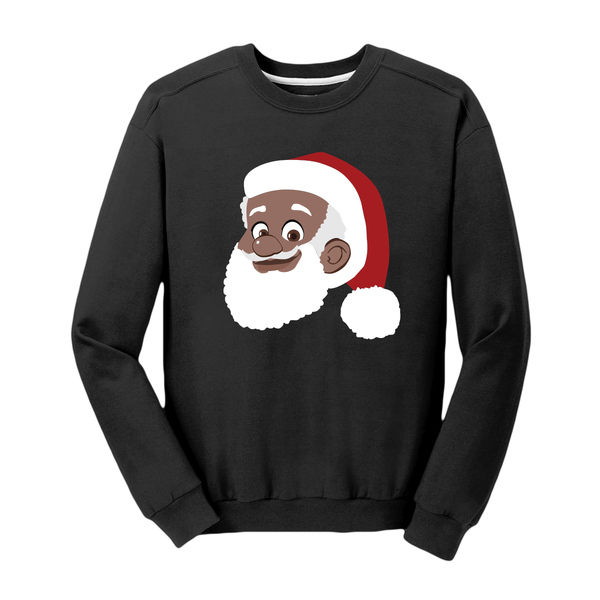 Black Santa Clarence Claus™ Sweatshirt [Black]