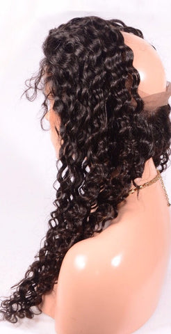 360 Lace Frontal Deep Wave