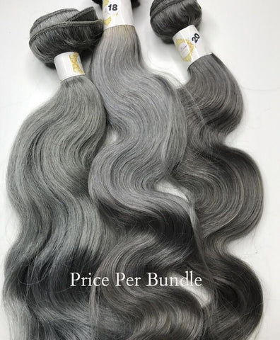 Custom Color Grey Wavy