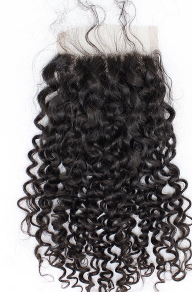 Lace Closure Curly - Ice Cream Virgin Hair