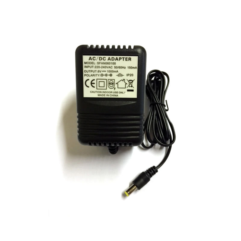 6V 1000mA Universal Battery Charger for Kids Electric Ride on Cars Jeeps Quad Bike
