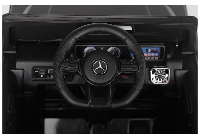 Licensed Mercedes Benz G63 12v Ride on Car Jeep with Remote - Black