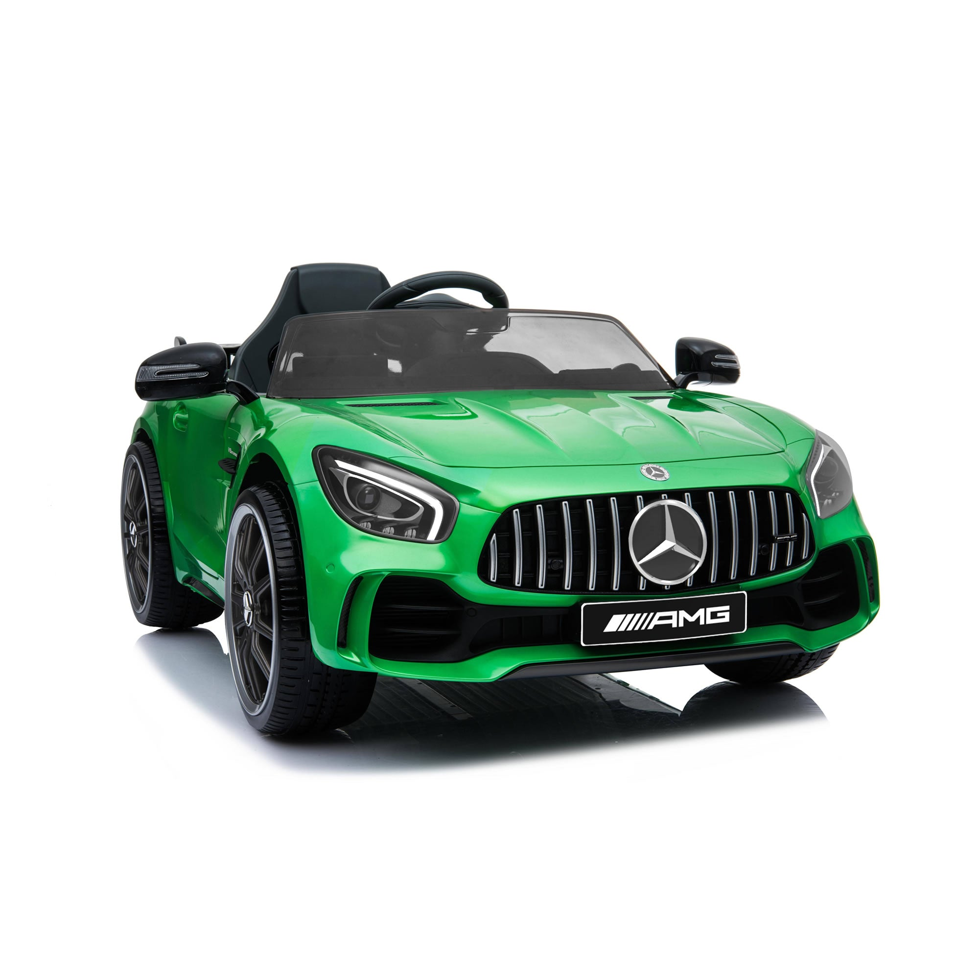 Licensed Mercedes Benz GTR 12v Kids Ride on Car - Green