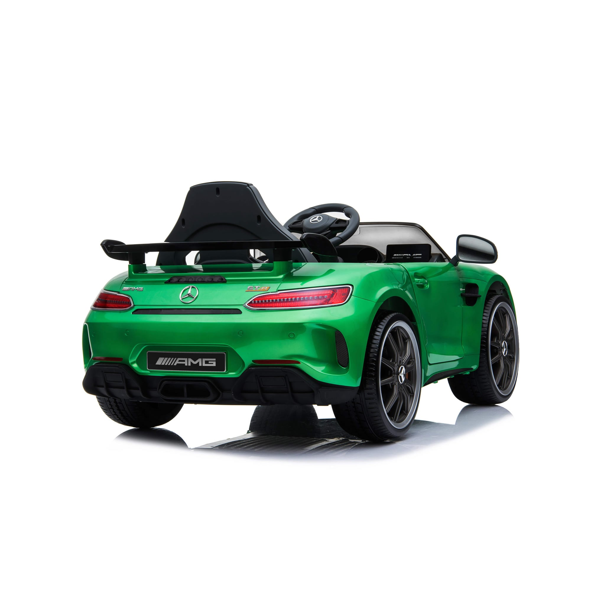 Licensed Mercedes Benz GTR 12v Ride on Car - Green