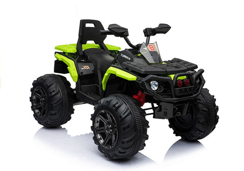 FX Cruiser All Terrain 4WD 12V Children's Electric Quad Bike - Green