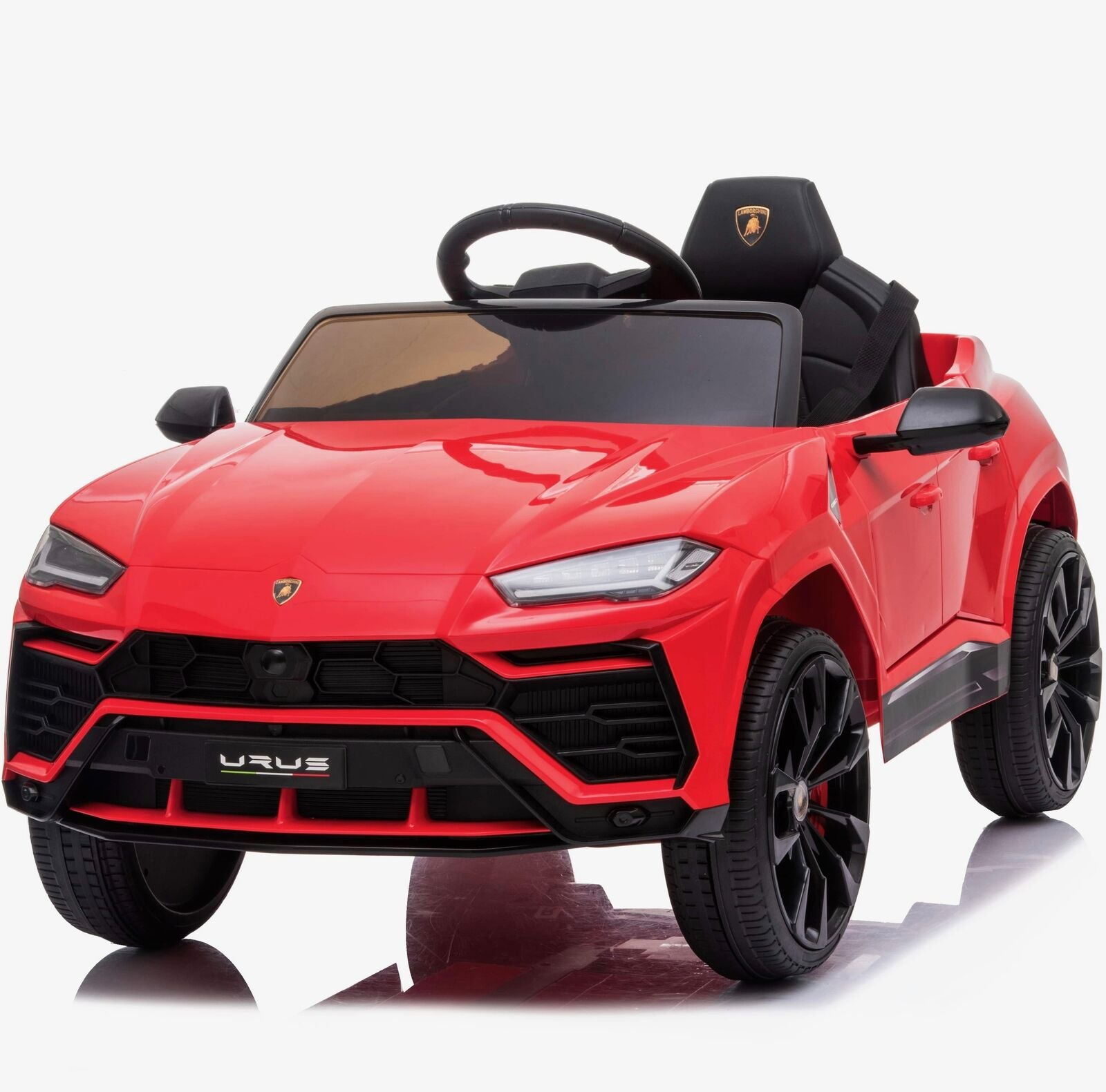 Licensed Lamborghini Urus 12V Ride On Children's Electric SUV Car - Red