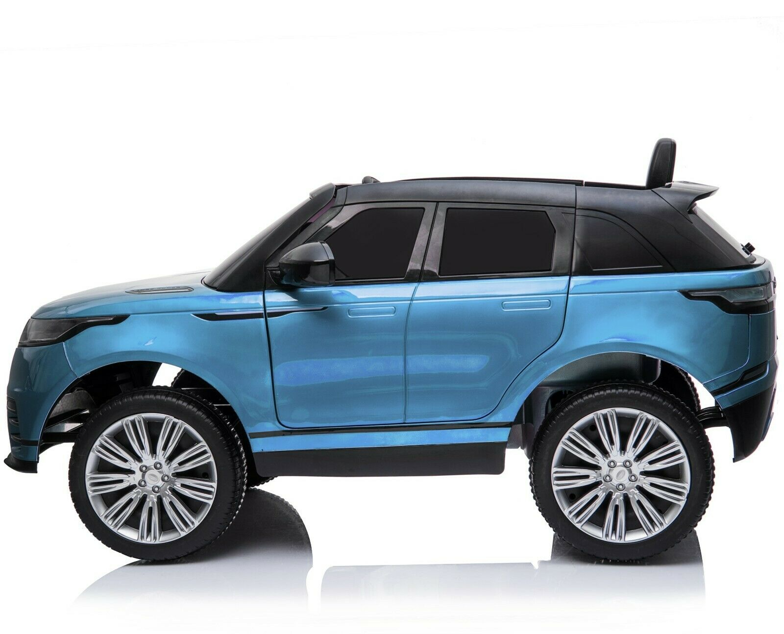 Licensed Range Rover Velar 12V Kids Ride on Car with Remote - Metallic Blue