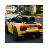 Audi R8 Spyder Compact 12v Ride on Car with Remote - Yellow