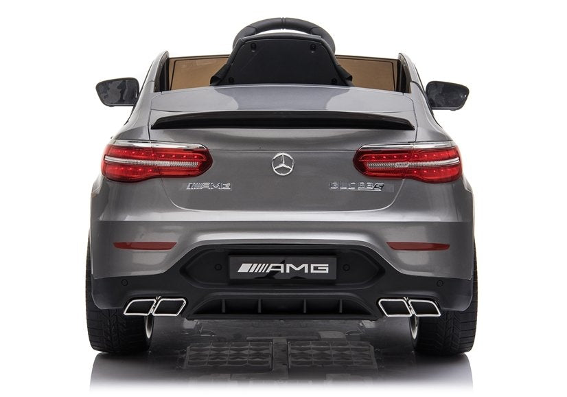 Licensed Mercedes Benz GLC63S 12V Electric Ride on Kids Car with Remote Control - Metallic Grey