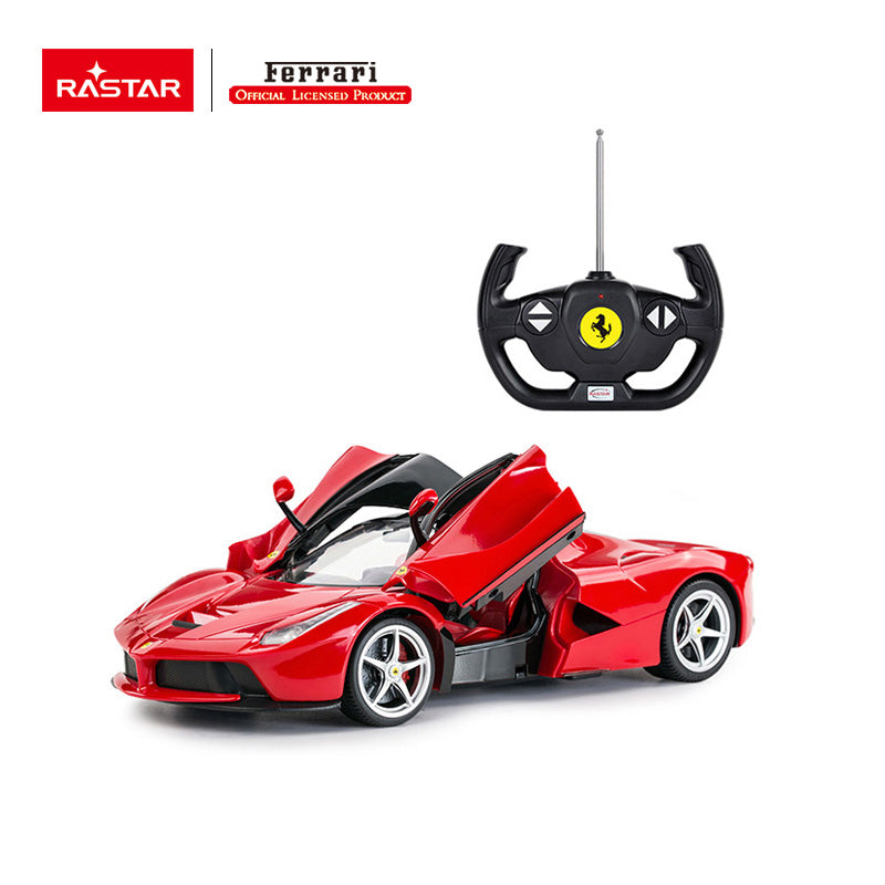 RC 1:14 Ferrari Laferrari Kids Remote Control Toy Car - Red