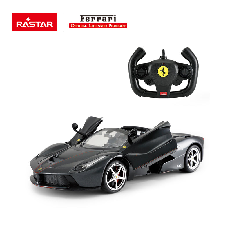 Rastar RC 1:14 Ferrari Laferrari Aperta Kids Remote Control Toy Car - Black