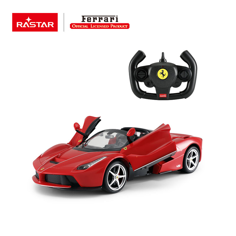 Rastar RC 1:14 Ferrari Laferrari Aperta Kids Remote Control Toy Car - Red