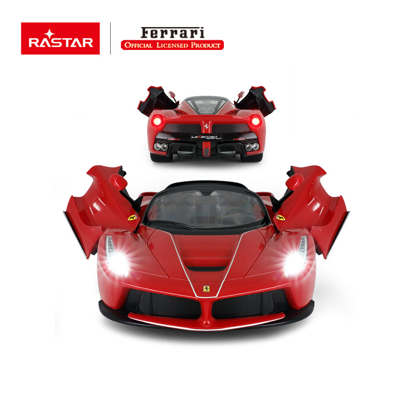 Christmas Sale RC 1:14 Ferrari Laferrari Aperta Kids Remote Control Toy Car - Red