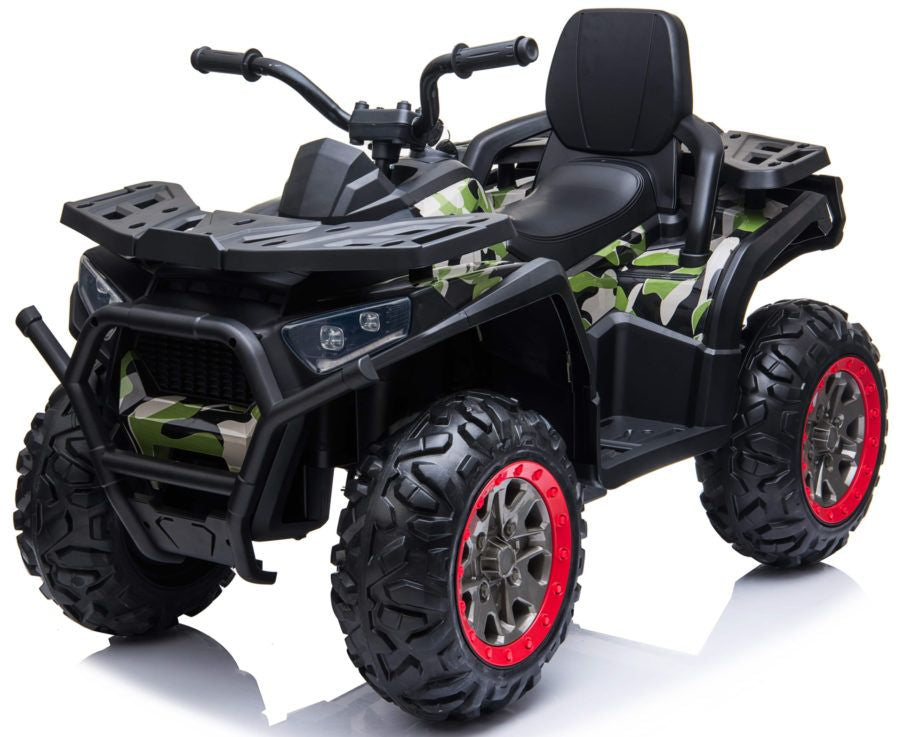 XMX607 Desert ATV 12V with 4 x Motors Electric Ride on Quad Bike - Camo