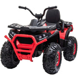 XMX607 Desert ATV 12V with 4 x Motors Electric Ride on Quad Bike - Red