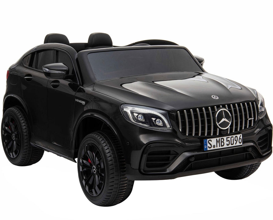 Licensed Mercedes GLC63S 24V 4WD 2 Seater Ride On Car - Metallic Black