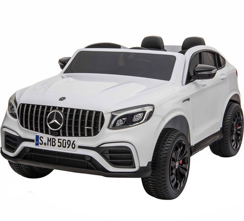 Licensed Mercedes GLC63S 24V 4WD 2 Seater Ride On Car - White