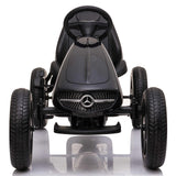 Licensed Mercedes Children's Ride On Pedal Go Kart - Black
