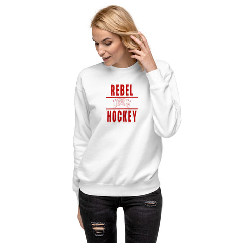Rebels x UNLV x Hockey Unisex Fleece Pullover