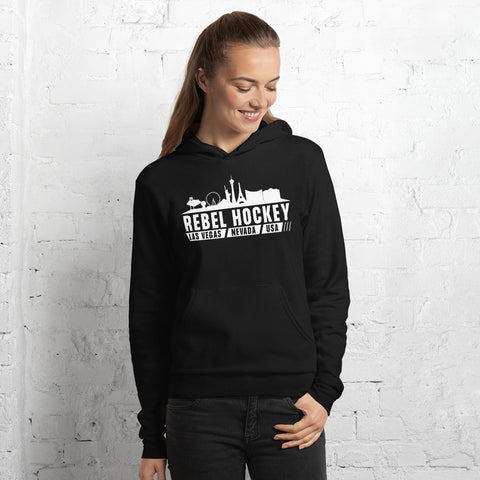 Rebel Hockey x Las Vegas Skyline Unisex Hoodie