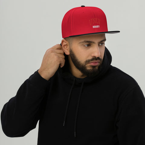 UNLV Hockey Snapback Hat