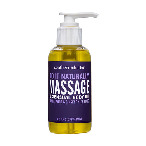 Body & Massage Oil 4.5oz Sandalwood & Cinnamon