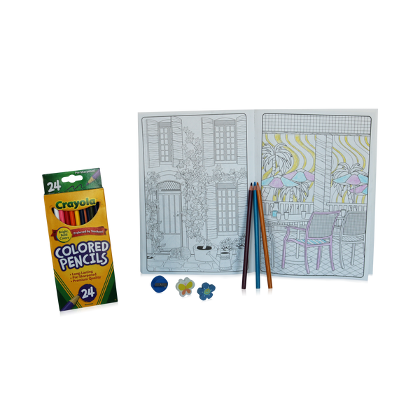 Color Me Soothed - Adult Coloring Gift Set - Care Package