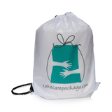 Cozy Candle and Blanket Gift Set - Care Package - Sports Bag