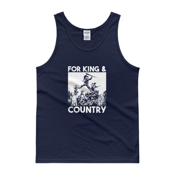 For King And Country Tank Top