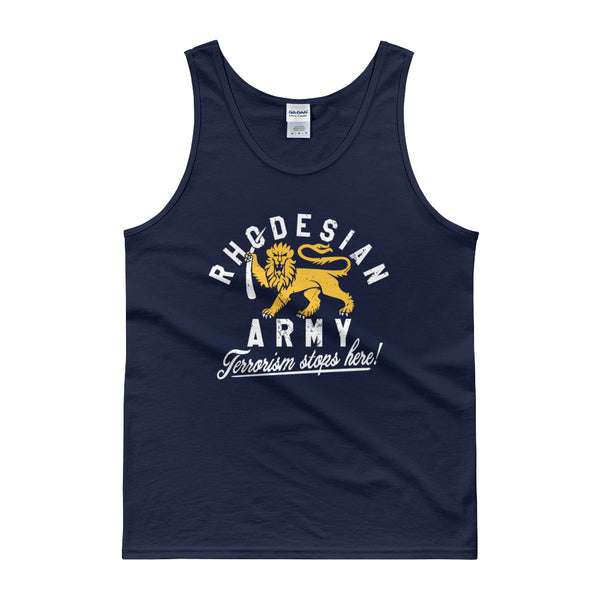 Rhodesian Army Tank top