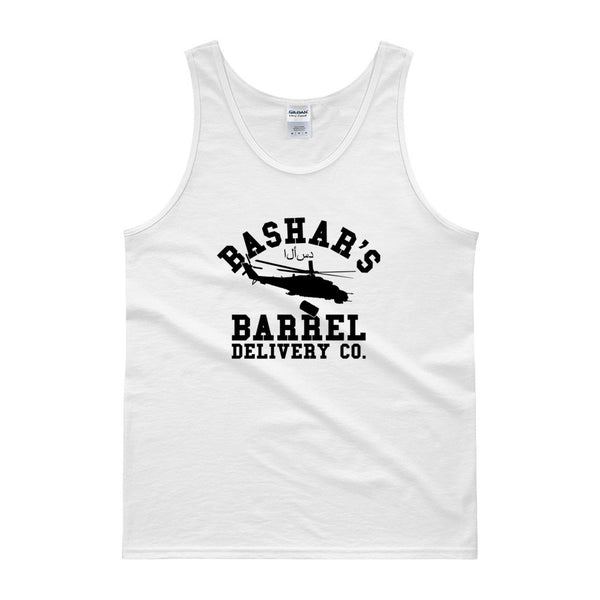 Bashar's Barrel Delivery Co. Tank Top