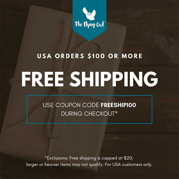 Free Shipping from The Flying Owl