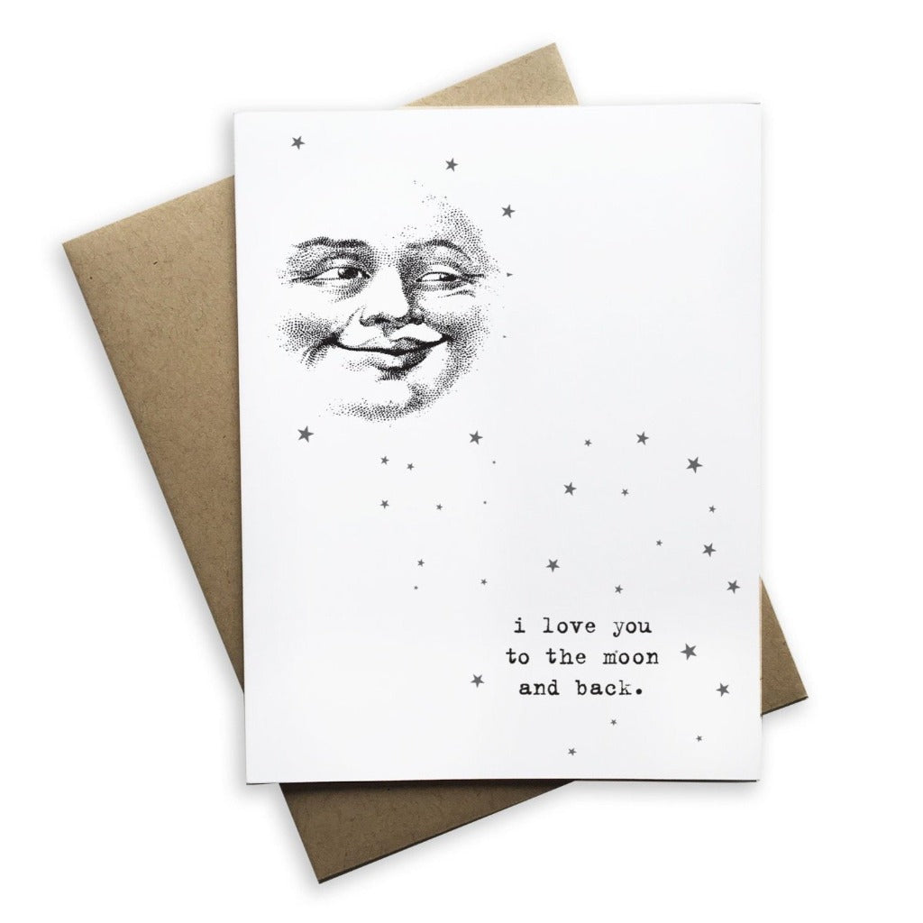 I Love You To The Moon and Back - The Flying Owl