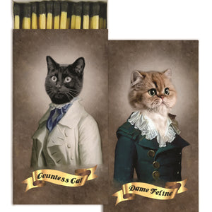 Matches - Regal Cats - The Flying Owl