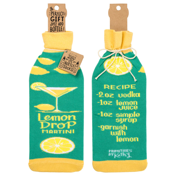 Bottle Sock - Lemon Drop